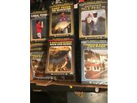 60 new The Complete Angler DVD's. Canal, Conger, Carp Fever, Days ledgering, Perch,
