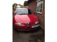 Alfa Romeo 147, Bargain for quick sale, good runner and reliable