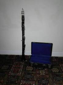 B&H Regency b flat wooden Clarinet with box and new reeds...All pads and valves good
