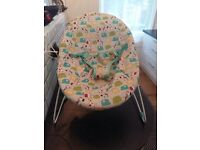 Bright stars baby bouncer - excellent condition
