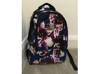 Floral casual day backpack