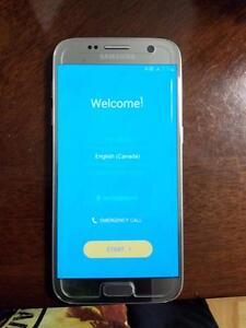 Silver Samsung Galaxy S7 32 GB