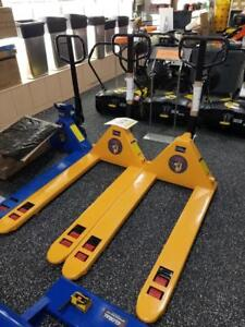 Brand New Pump Trucks/Pallet Jacks - 5500 Pound Capacity - Only $349!
