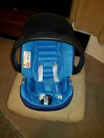 Used Mothercare Maine isofix baby car seat