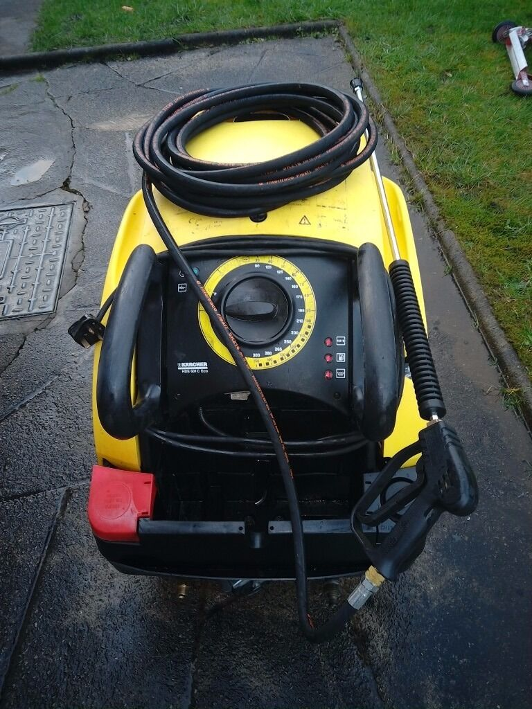 Karcher 601 Eco Industrial Car Wash Hot Pressure Washer