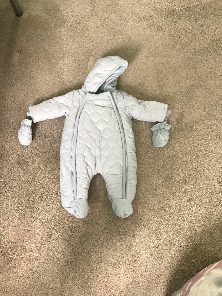 Mamas and papas snow suit 0-3 months