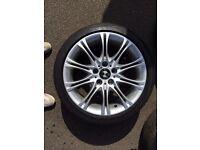 "For sale BMW M-Sport MV2 Style 18"" Alloy Wheel Fits E46 and Z4 (E85;E86)"