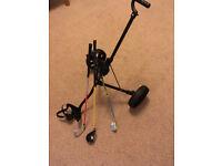 Childrens Golf Clubs & Trolley