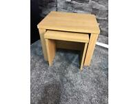 3 small coffee table/ stools