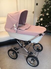 silver cross sleepover elegance vintage rose limited edition pink with tons of extras and 2 Chassis