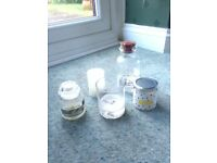 Free decorative jars and candles