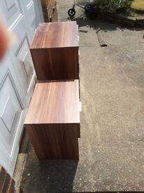2 bedside tables + 4 drawer cabinet