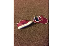 Baby Nike trainers size 0.5
