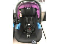 X2 silver cross car seats and silver cross iso fix base