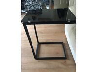 Glass (Black) Laptop / End Tables