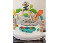 Space Saver Jumperoo Fisher Price Baby Bouncer