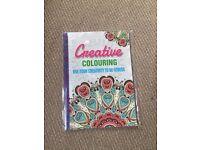 Creative Colouring Book for De-Stress
