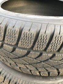 Winter Tyres 255/45/R20 Dunlop Winter Sport (4)