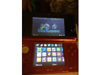 Red Nintendo 3ds one game