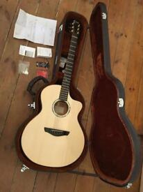 *AS NEW* Faith FNCE Natural Neptune Baby Jumbo Electro Acoustic Guitar