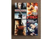 Prison Break seasons 1-4 boxsets (see desc)