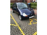 Ford KA 1.3 low miles 9months MOT Electric windows