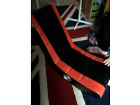 red & black gaming chair