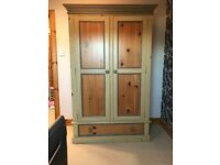 Double wardrobe, painted wood
