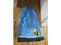 Digger Curtains for boys bedroom