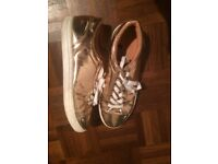 Next Rose Gold Women's size 7 shoes