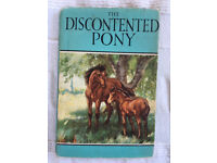 Vintage 1950s Ladybird Book The Discontented Pony + dust cover.Series 497. 1st printed 1951.£10 ovno