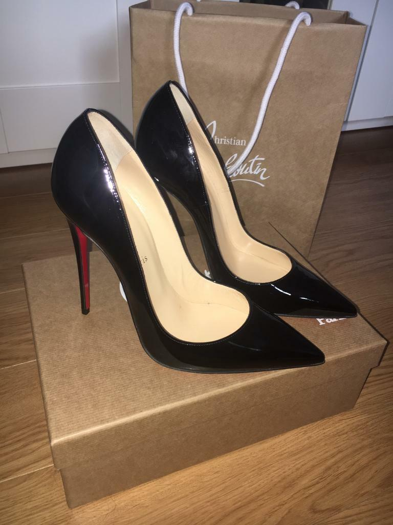 los angeles 775a9 5d8c9 Christian Louboutin So Kate 120 black patent heels, size 40 | in Armagh,  County Armagh | Gumtree