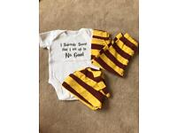 0-3 Months Harry Potter outfit