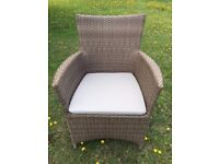Rattan Flat Weave Chairs (Garden, Patio, Pub, Restaurant & Events)