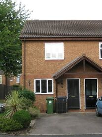 2 bedroom house for rent, available from 1st March