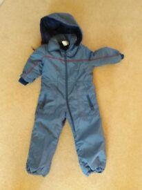 Boys Ski Suit. Age 3/4