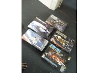 collection of star wars/trek modelling kits in great condition