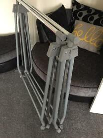 X2 fold away rails