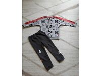 Boys toddler limited edition Adidas Disney Mickey Mouse tracksuit 3-4 years