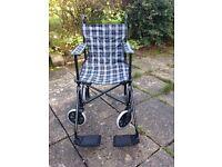 Folding wheelchair - unused
