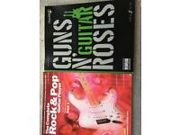 Guitar sheet music books