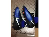 Nike foot ball shoes size 5