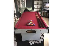 Pool table 6 foot