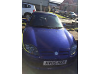 MG TF - Excellent condition - 2005, 1.8 Petrol - low mileage 48,744 miles