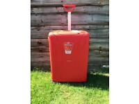 American Tourister 75cm Lock 'n' Roll 4 Wheel Spinner Luggage Suitcase Collection Brand New in Red