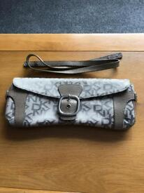 DKNY clutch/shoulder bag