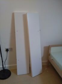 Two shelves from ikea