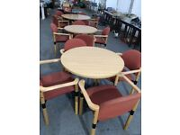 Conference table & 4 chairs
