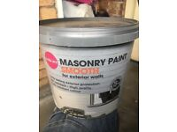 Masonry paint very good