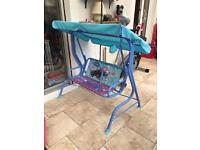 Kids Frozen Swing Seat
